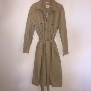 Gap single breasted trench coat